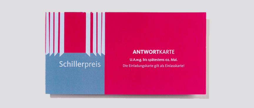 Stadt Mannheim Schillerpreis